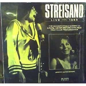 Streisand Live   1963 [VINYL LP] Barbra Streisand Music