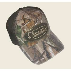 Buck Commander ~ Camo Green ~ Deer Hunting Hat Cap New