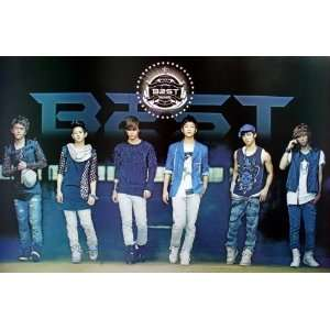 Beast Beast B2st Korean Boy Band Pop Dance Music Wall