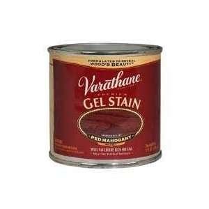 224500 Varathane Gel Stain, Half Pint, Red Mahogany