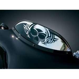Kuryakyn 1361 6 Zombie Windshield For Harley Davidson FLHT