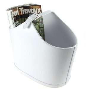 Lucrin   Magazine & Newspaper Holder   7.6 x 13.7