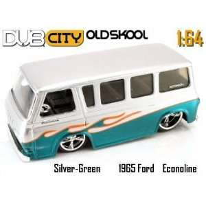 Flamed 1965 Ford Econoline Van 1:64 Scale Die Cast Car: Toys & Games