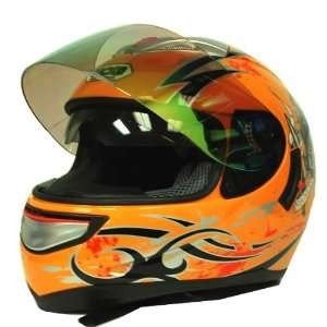 Motorcycle Street Bike Dual Lens/Double Shields Full Face