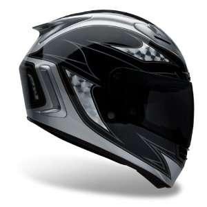 Bell Star Contra Black/Silver Full Face Motorcycle Helmet