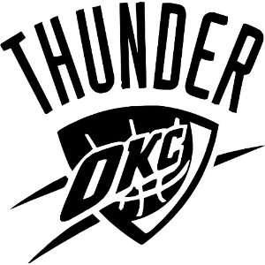 OKLAHOMA CITY THUNDER NBA Vinyl Decal Sticker / 4 x 4
