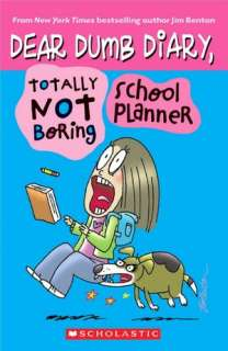 BARNES & NOBLE  Totally Not Boring School Planner by Jim Benton