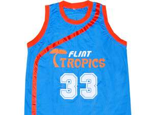 SEMI PRO MOVIE FLINT TROPICS JACKIE MOON JERSEY GREEN NEW 3XL
