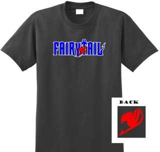 Fairy Tail Guild Logo Anime T Shirt Tee Natsu Cosplay