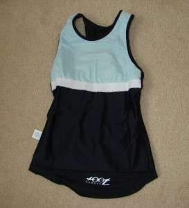 TRIATHLON ZOOT WOMEN padded short sport top TRI COMBO TOP SHORT all