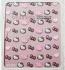 Hello Kitty & Bowknot 3D Nail Art Decoration Sticker Tip Decal
