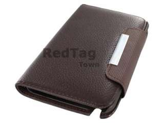 Leather Wallet Case Cover w/Inner Card Slot For Samsung Galaxy Note