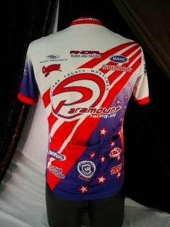 MENS CYCLIST SHIRT Bicycle OC WHEELMEN Paramount Race MEDIUM Biking