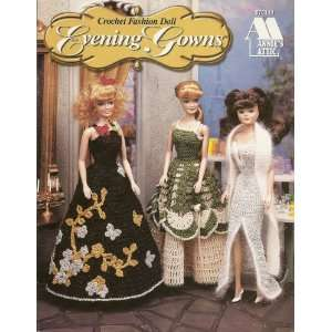 Annies Attic Crochet Fashion Doll Evening Gowns: Books