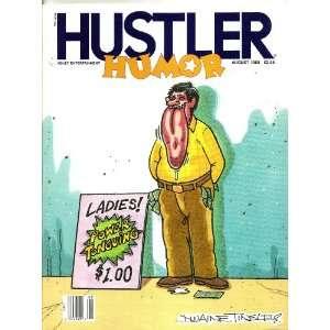 HUSTLER HUMOR (AUGUST 1988): HUSTLER HUMOR MAGAZINE:  Books