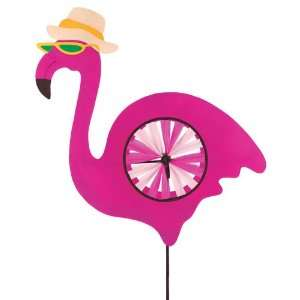 Art Pink Flamingo Wind Twirler Decorative Lawn Patio, Lawn & Garden