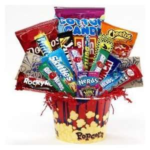 Food Gift Basket   Chocolate and Candy Bouquet  Grocery