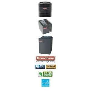 5 Ton 15 Seer Goodman Heat Pump System   SSZ140601