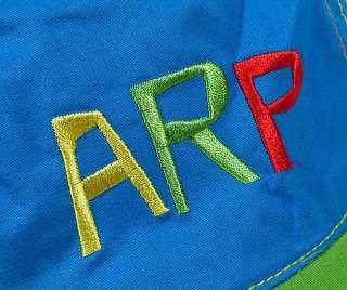 RUIZ DE LA PRADA designer baby boy baseball cap hat blue green new NWT