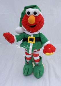 Sesame Street Elmo sings 12 Days of Christmas plush ZZ