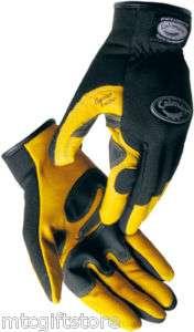 ® XL Extra LARGE 1947 Gold Goat Grain Mechanics Work Gloves