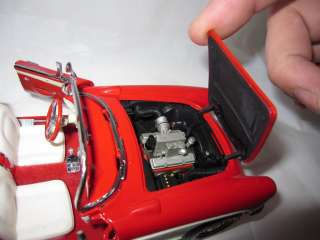 Franklin Mint 1/24 1957 Chevrolet Corvette Diecast Precision Model Red