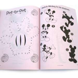 Mickey Mouse Club House giant book to color features Mickey Mouse and