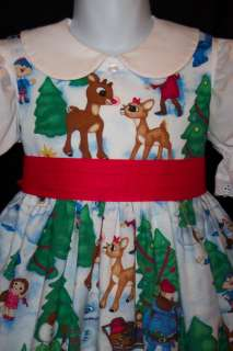 RUDOLPH Misfit TOYS Christmas DRESS CUSTOM