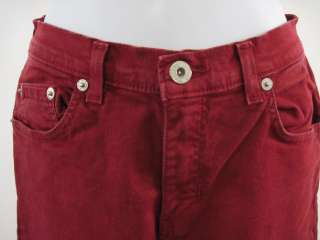 BUFFALO DAVID BITTON Red Straight Jeans Pants Size 26