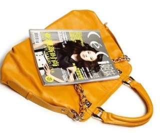 Genuine Leather Bag Purse Handbag Satchel Tote 5 colors