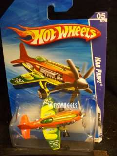 hot wheels 2010 #151 214 MAD PROPZ ORNG INTL