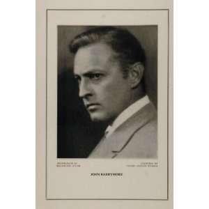 1927 Silent Film Star John Barrymore United Artists
