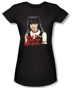 NEW Women Ladies Kid Youth Girls Men SIZES NCIS Abby Geek Talk T shirt