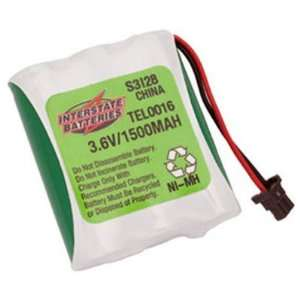 Interstate ALL Battery Tel0016 Cordless Telephone Battery