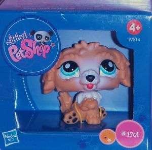 Littlest Pet Shop #1701 LABRADOODLE DOG *NIP*~♥~