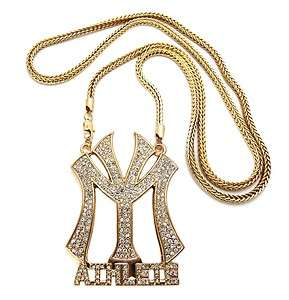 LILWAYNE DRAKE NICKI Young Money Athlete Pendant Necklace w/Franco