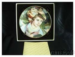Portraits of Innocence Adrien by Francisco Masseria Royal Doulton Gold