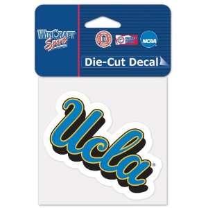 University Of California   Los Angeles Die Cut Decal 4x4