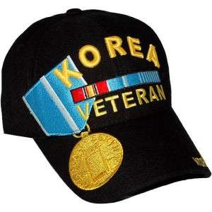 KOREA KOREAN VET ARMY NAVY MARINES AIR FORCE HAT CAP