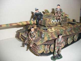 Collectors Showcase WW2 GERMAN Michael Wittmann CREW of 4