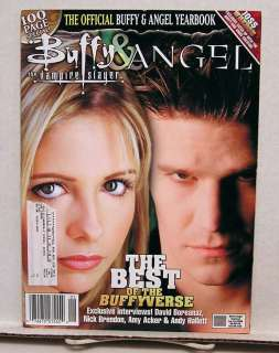 2008 Buffy & Angel Yearbook Official Magazine