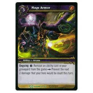 World of Warcraft Hunt for Illidan Single Card Mage Armor