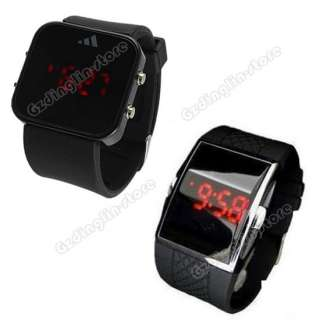 Fashion Luxury Sport Style LED Digital Date Lady Women Men Watch Gifts
