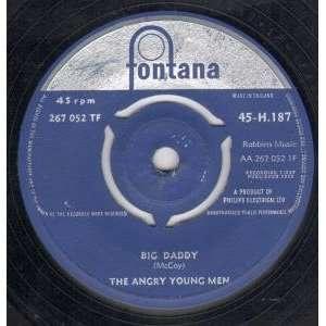 BIG DADDY 7 INCH (7 VINYL 45) UK FONTANA 1959