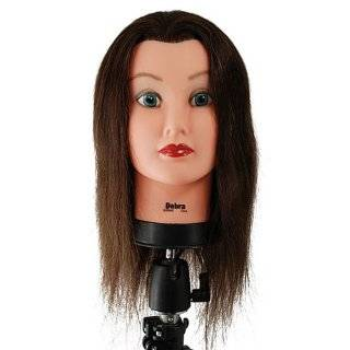 Celebrity 21 Cosmetology Mannequin Head 100% Human Hair, Brown