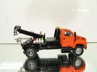 87 HO Scale GMC Wrecker Tow Truck black / orange
