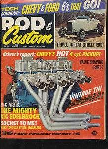 1969 Rod & Custom cars  lot/2  1954 Lincoln  1936 Ford  hot rods  mini
