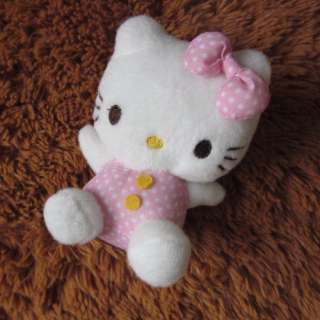 New Soft Small HelloKitty Doll Toy Girls Kid Xmas Gift Pink Decoration