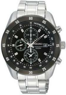 Mens New Seiko Quartz Chronograph SNDC47 Watch