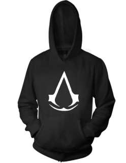 ASSASSINS CREED LOGO Video Game ps3 xbox 360 new HOODIE